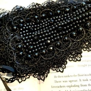 Boutique Jewelry - ⚡Vintage Beaded Lace Peter Pan Collar Necklace